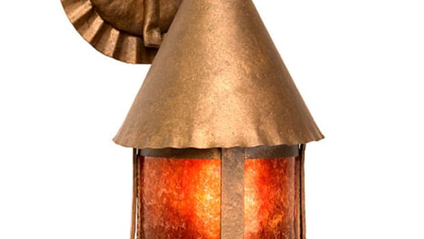 Bronze Sonoma Sconce, Steel Partners, Arts & Crafts exterior lighting