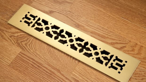 Scrollwork-pattern heat register, Reggio Register