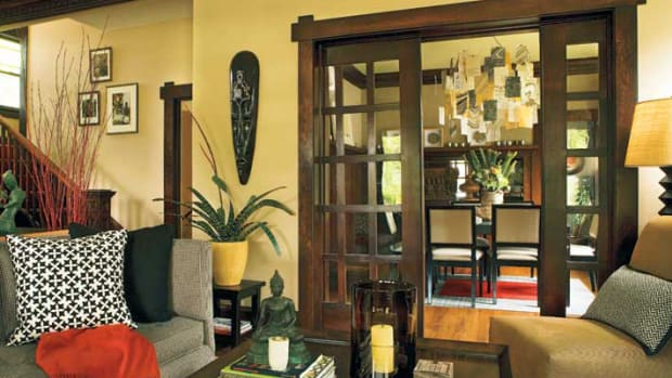 Douglas fir Arts & Crafts doors