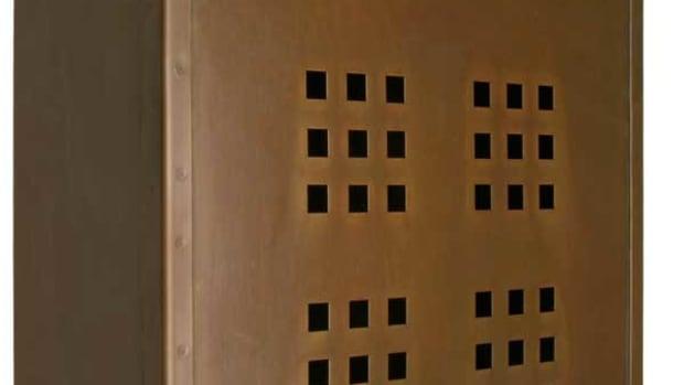 brass Craftsman mailbox