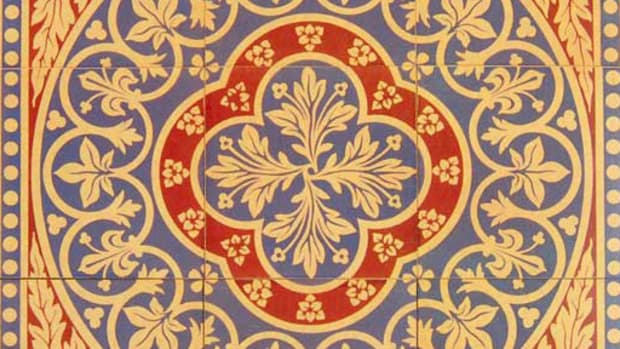 A Guide To Art Tile Design For The Arts Crafts House Arts - Faux encaustic tile