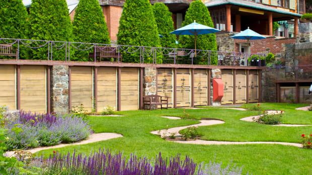 Shingle-style Naumkeag, Naumkeag gardens