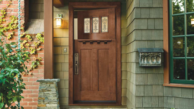 Arts & Crafts Entry Doors, Craftsman doors, replacement door