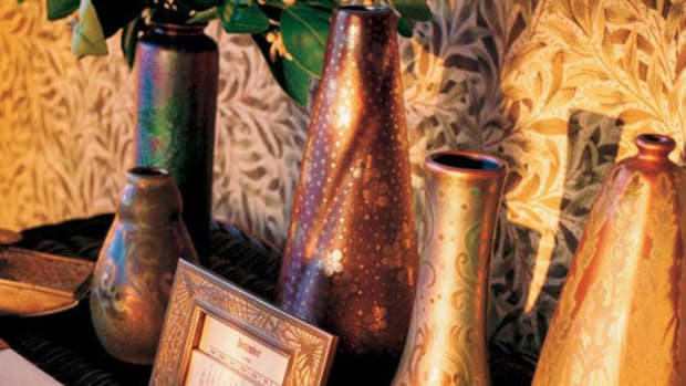 Arts&Crafts vases collectibles