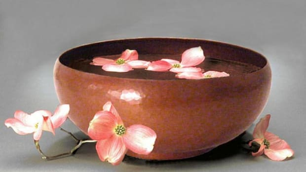 Susan hebert JMCP 32 camellia bowl