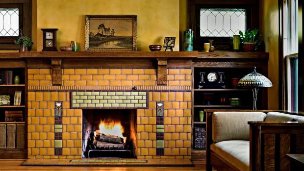 Dard Hunter 'Poppy' tiles, Motawi