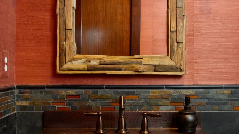 Two Baths from a Revival Craftsman