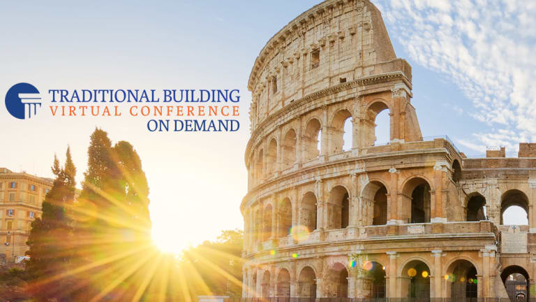 Traditional Building Virtual Conference On-Demand