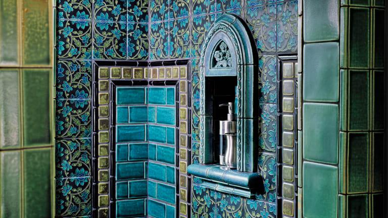 Dazzling Tile for Art Deco Baths