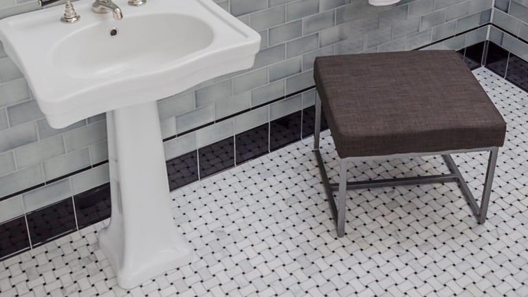 A Mosaic Tile Floor