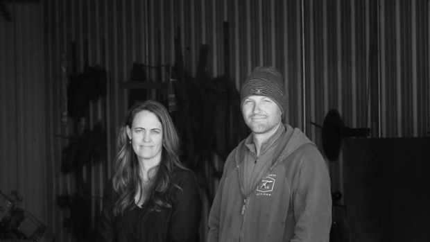 Amy and Stefan Sasick transitioned from landscape to metalwork design as part of a search for a more fulfilling life.