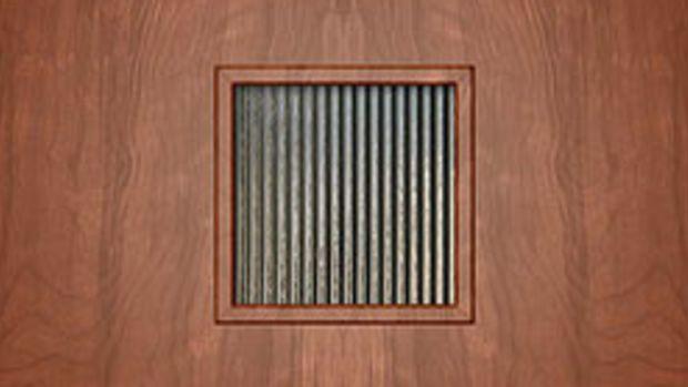 Crestview Doors makes postwar-era doors and kits, like the 'Pasadena'.