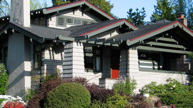 A Japanese-style bungalow in Ravenna. Photo: Lawrence Kreisman/Historic Seattle