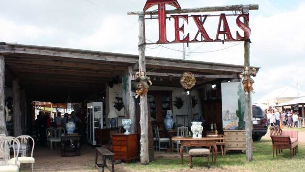 Mess around in Texas during the two-week-long Round Top Antiques Fair this spring.