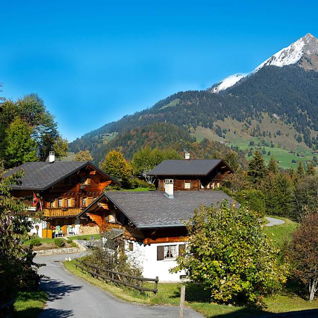 Swiss Architecture Chalet