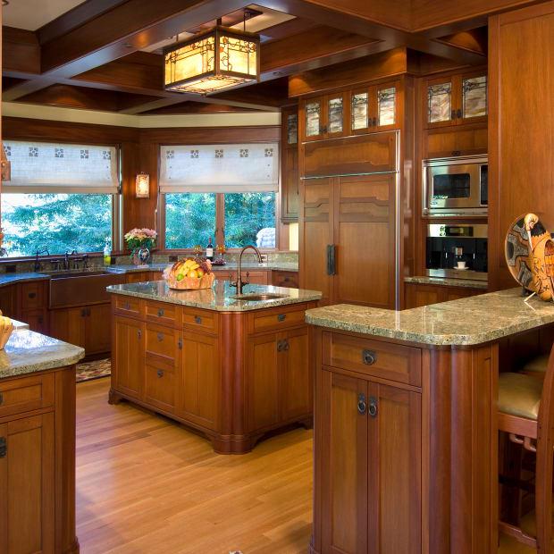 Kitchen For A Tudor Of The Arts Crafts Era Design For The Arts Crafts House Arts Crafts Homes Online