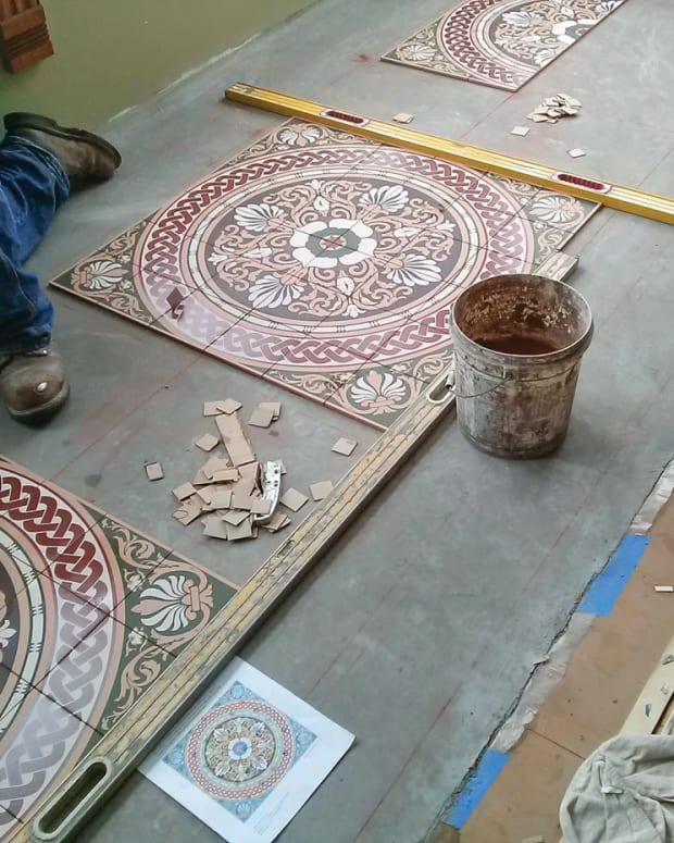 encaustic tiles from Original Style