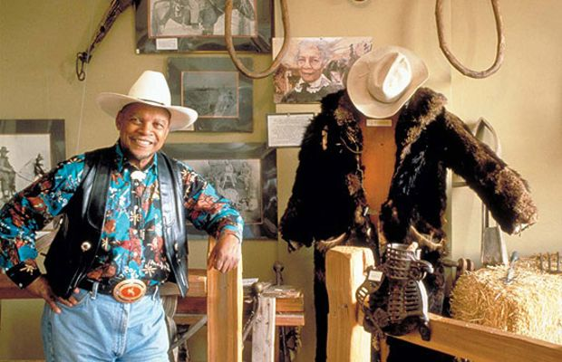 Explore the history of black American cowboys at the Black American West History Museum.