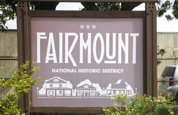 In Fort Worth, the Fairmount National Historic District is the city's biggest and best.