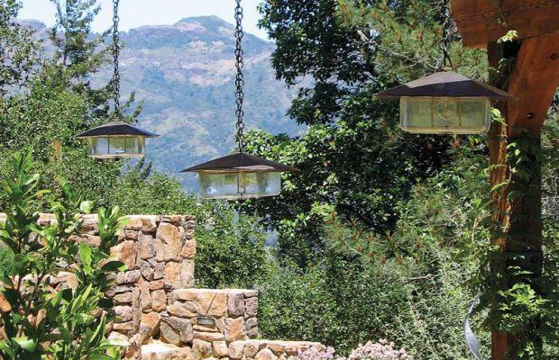 Coe Studios' solid bronze hanging lanterns meet UL wet location ratings.