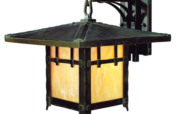 This is the 'Old Knoll' exterior wall-mount fixture from Troy Lighting.