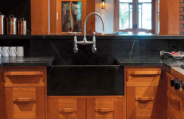 Honed Countertop Materials : , soapstone, and honed granite are timeless materials for countertop ...