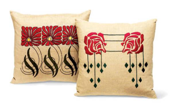 Aster and Rose motifs, Ann Wallace/Prairie Arts