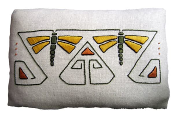 Dragonfly, Arts & Crafts Period Textiles