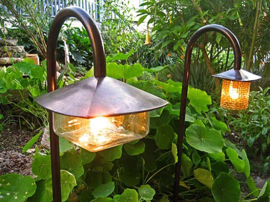 Tilden series, Coe Lighting: downward light is ideal for paths.