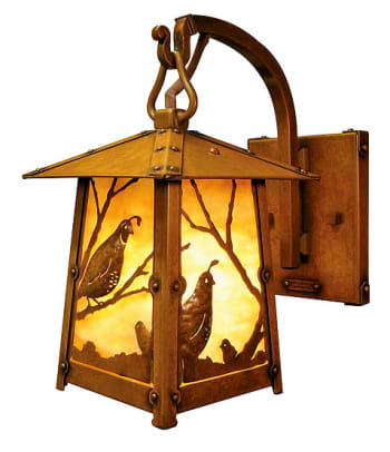 Quail lantern from Old California Lantern.