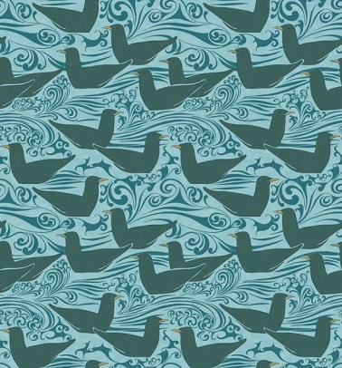 Seagulls wallpaper from Trustworth Studios.