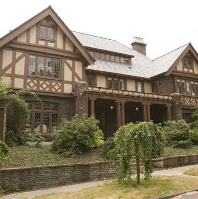 An impressive 1908 Tudor with an Arts & Crafts interior. Photo: William Wright