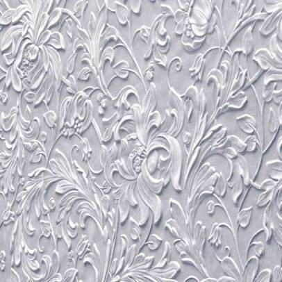 Historical treatments for bungalow-era walls include embossed wallcoverings suitable for a variety of finishes
