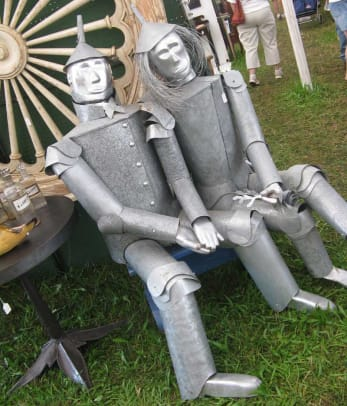 The Tin Man found his mate at Madison–Bouckville.