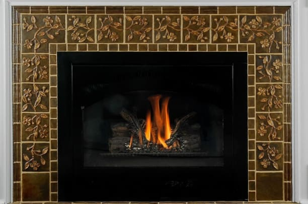 Dogwood Fireplace