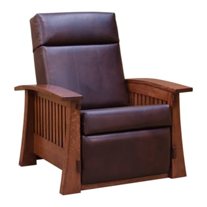 barn furniture mart mission leather chair