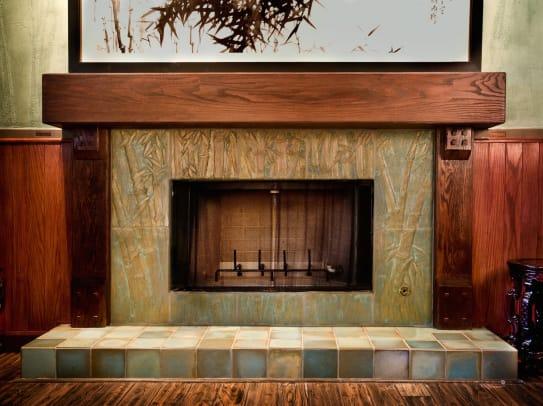 Pasadena Bamboo+Fireplace-