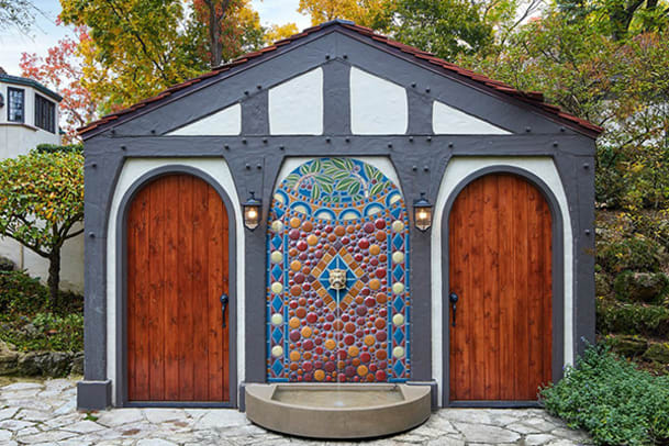 Pewabic_outdoor-water-fountain