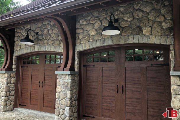 Garage Custom Brackets 1200pi Timber Build