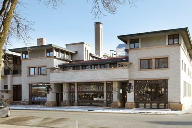 Frank Lloyd Wright in Iowa's River City