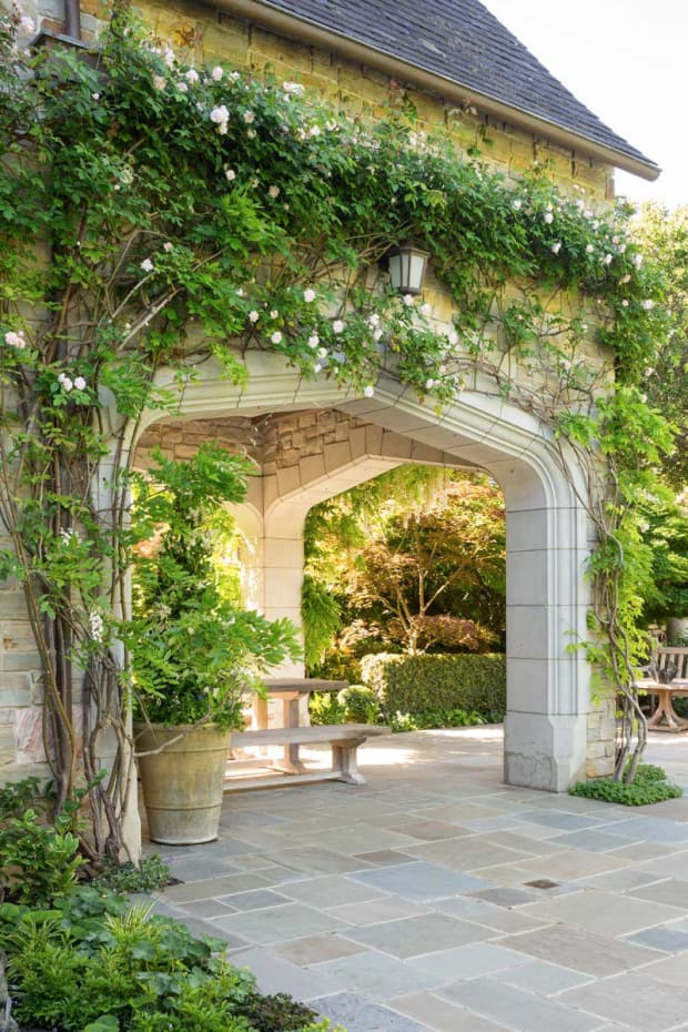 An English Country Garden in Northern California