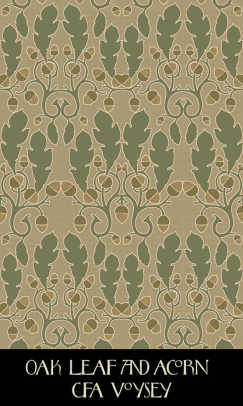 Voysey-designed wallpaper from Trustworth Studios.