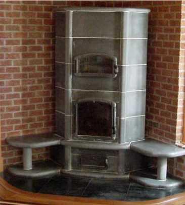 M. Teixeira Soapstone wood stove