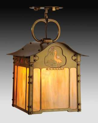 Epic  The uCrane u Rose u chandelier from Old California Lantern is an exact reproduction of