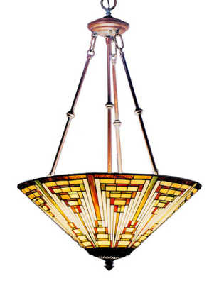 From House of Antique Hardware: At $510, the 'Mission' pendant gives an impression similar to that of their tortoiseshell chandelier priced at over $900.