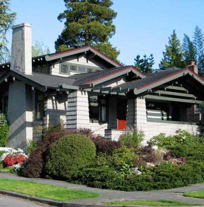 A Japanese-style bungalow in Ravenna. Photo: Lawrence Kreisman/Historic Seattle