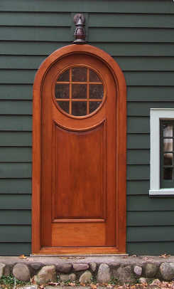 Round-top doors are a specialty.