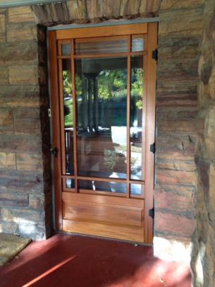 coppa woodworking arts and crafts door