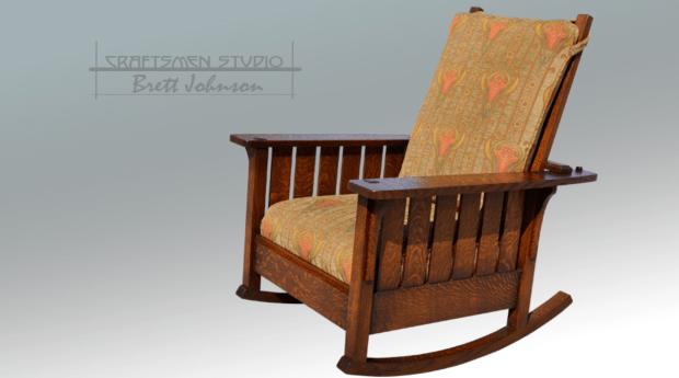 CS L & JG Rocker Morris Chair