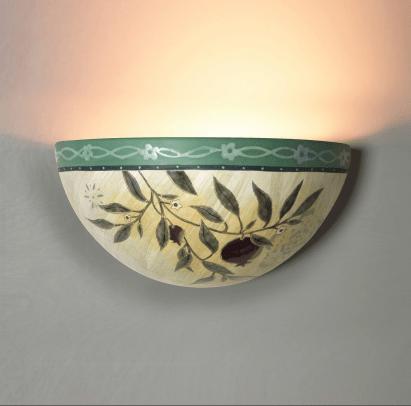 Ceramic Sconce in Pomegranate - Janna Ugone & Co